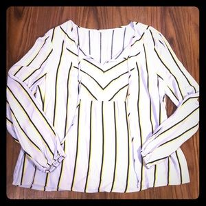NEW XXL Candie's Long Sleeve Blouse